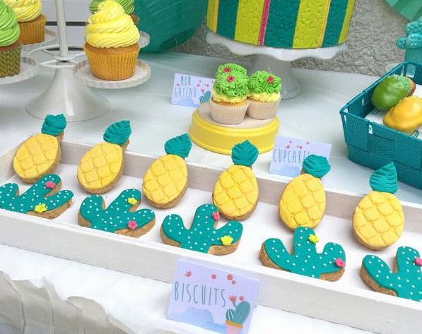 anniversaire cactus party décoration cactus