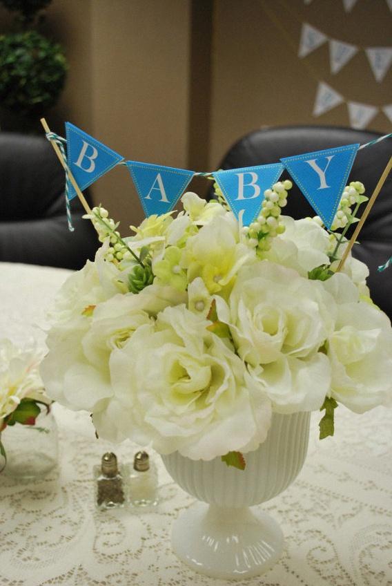 fleurs baby shower