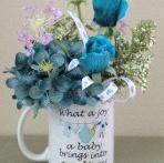 10 astuces pour décorer une Baby shower ou un baptême avec des fleurs