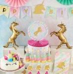 Licorne et carrousel : 2 thèmes tendance de baby shower ou d'anniversaire