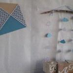 Une Baby shower sur le thème du cerf-volant et des moulins à vent