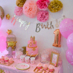 La sweet table Little Star de Louise : un premier anniversaire Etoiles