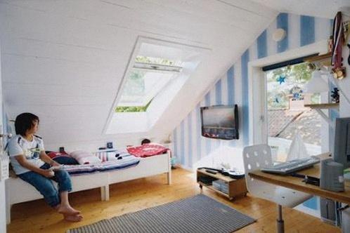 Comment bien aménager une chambre d\'enfant sous les combles ?