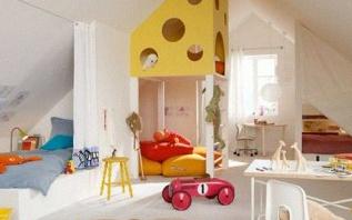 Comment bien aménager une chambre d'enfant sous les combles ?