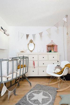 chambre bebe scandinave