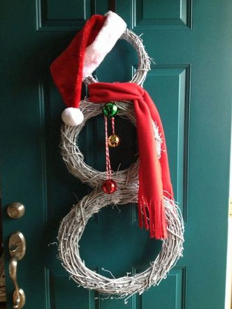 décoration de Noël d'extérieur