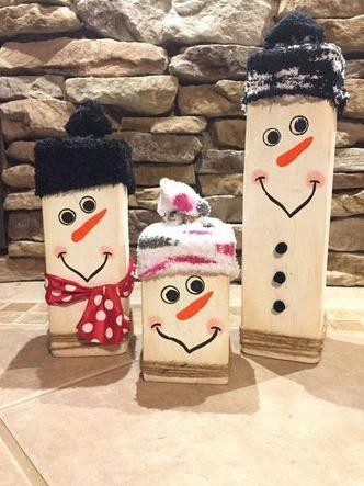 7 d corations de no l pour d corer votre ext rieur avec vos enfants - Pinterest bonhomme de neige ...