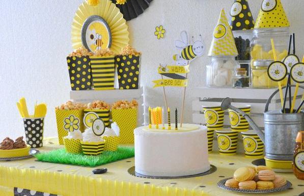 anniversaire abeille buffet