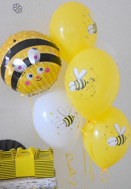 anniversaire abeille buffet décoration abeilles