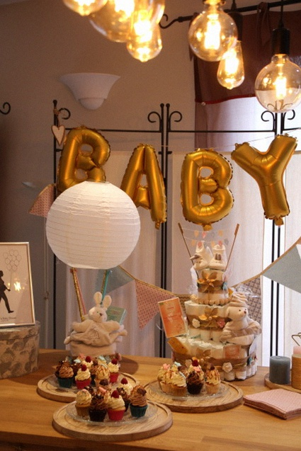 baby shower DIY surprise