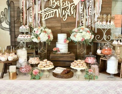 tendances baby shower