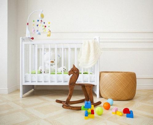 chambre bébé cheval à bascule