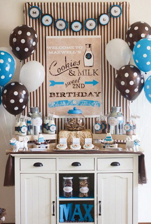 decoration anniversaire vintage