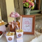 La Baby shower surprise d'Emilie : rose gold et rose poudré