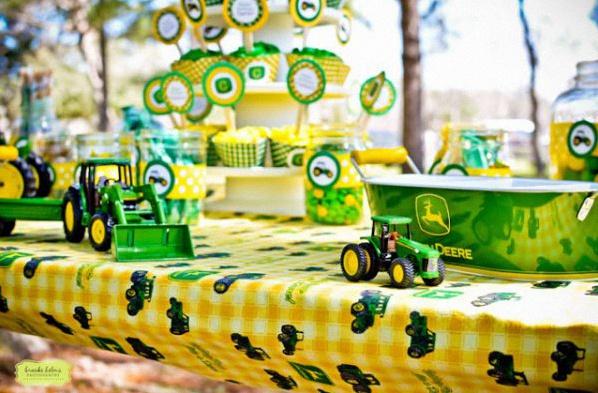 anniversaire tracteur animation jeu