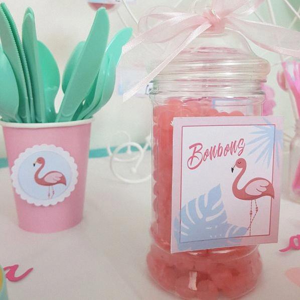 anniversaire flamingo décoration flamant rose