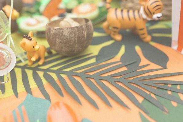 décoration jungle jungle party anniversaire