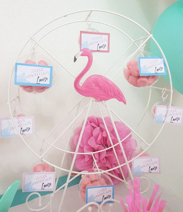 Flamingo Party L Anniversaire Tropical Et Flamants Roses De Louise