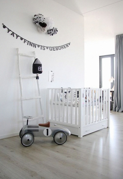 déco chambre bébé garçon blanche tendance