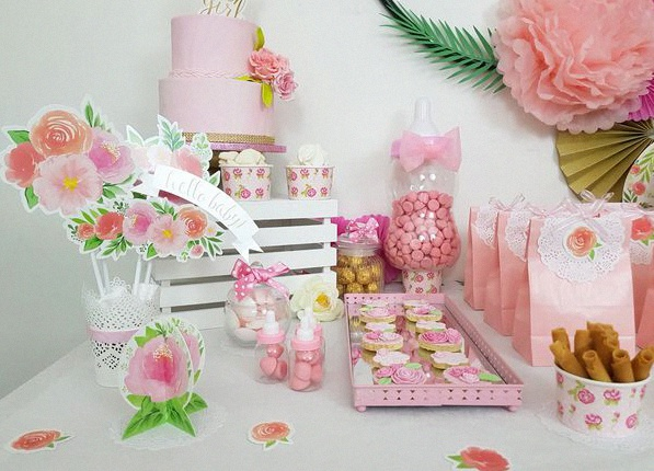 baby shower liberty shabby