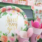 La Baby shower liberty shabby chic de Morgane