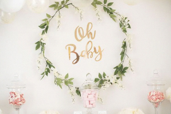 baby shower surprise fille it's a girl