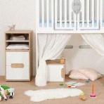 Les 5 avantages d'une chambre bébé évolutive