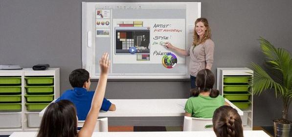 le TBI donne le goût du numérique aux enfants