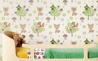 Quel papier peint pour décorer une chambre d'enfant ?