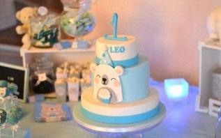 Les 1 an de Léo : un anniversaire Ours Polaire