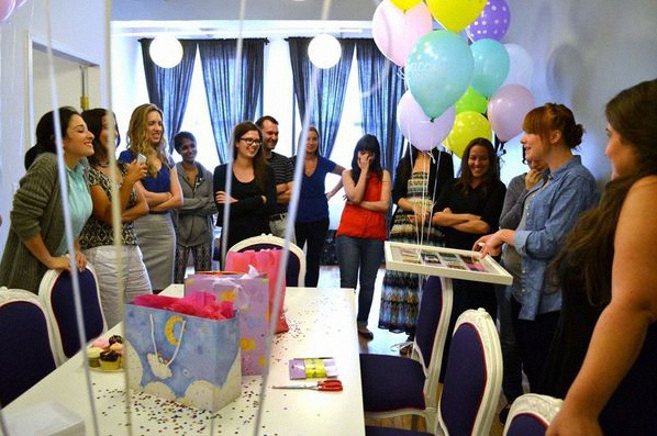baby shower au travail
