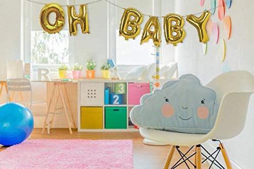 ballon lettre baby shower