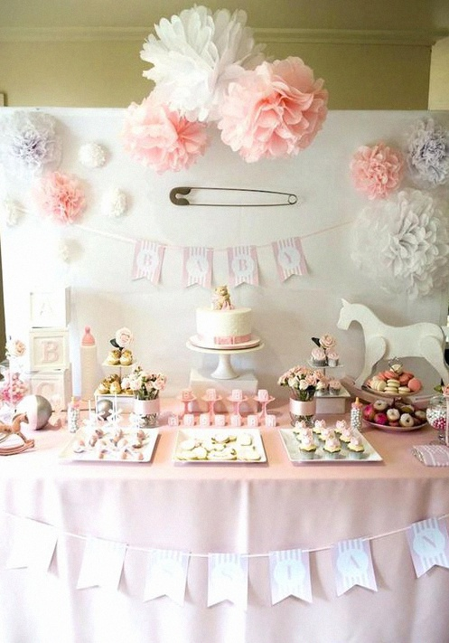 déco de baby shower