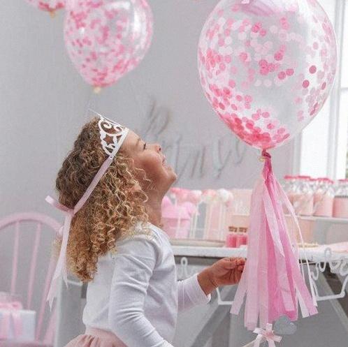 ballon confetti anniversaire