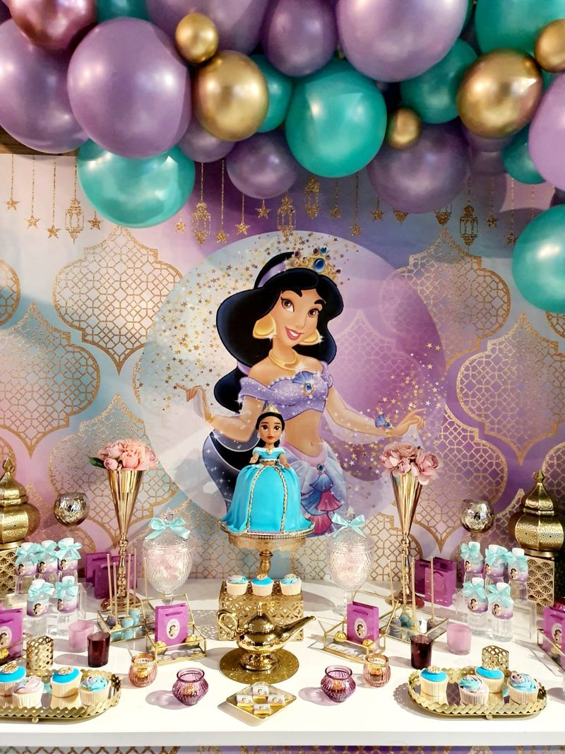 anniversaire Princesse Jasmine