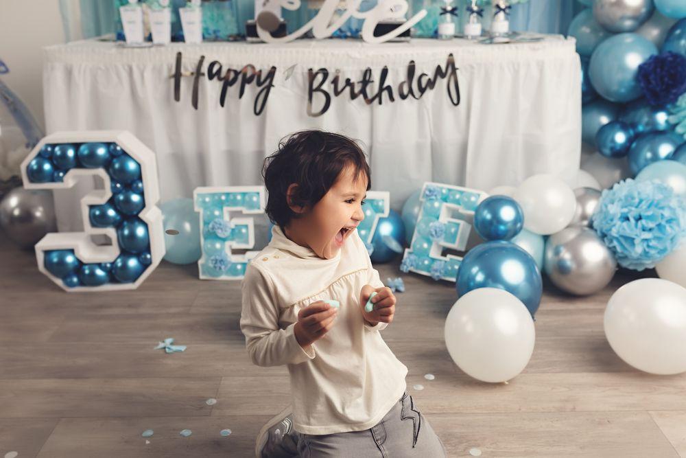 séance photo d'anniversaire