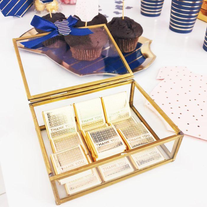 chocolat cadeau d'invité