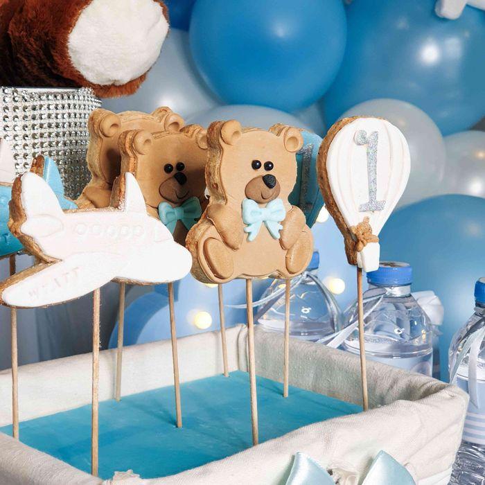 sablés décorés ourson