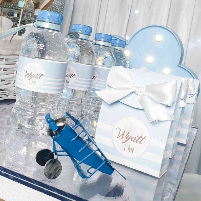 bouteilles décorées anniversaire