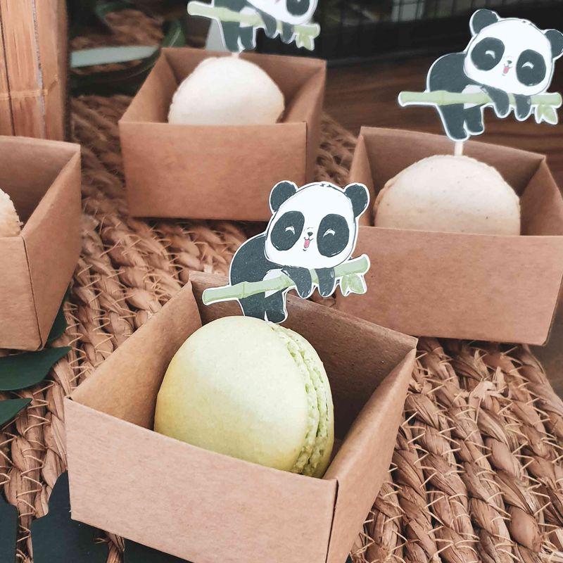 macaron panda