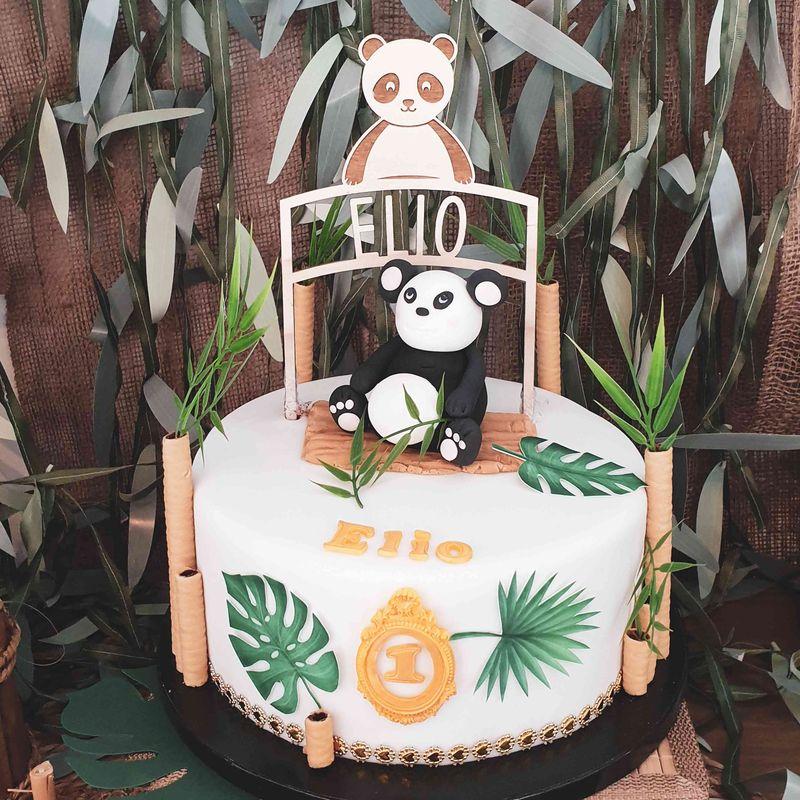gateau nniversaire Panda