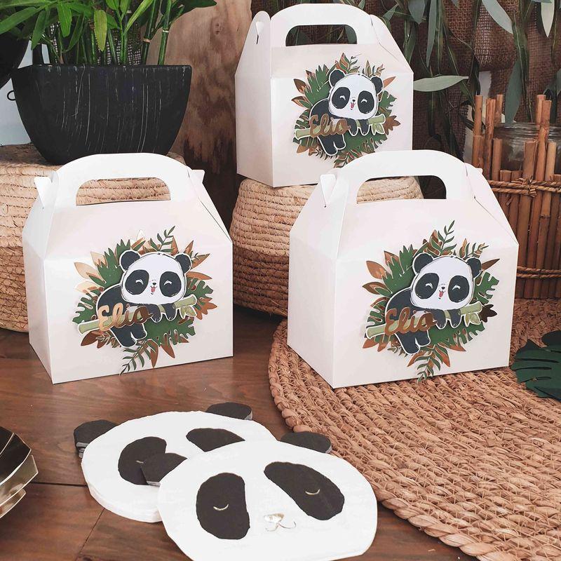 cadeau d'invité panda
