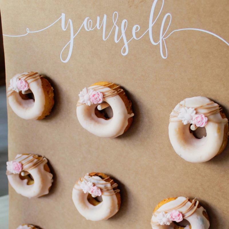 mur de donuts
