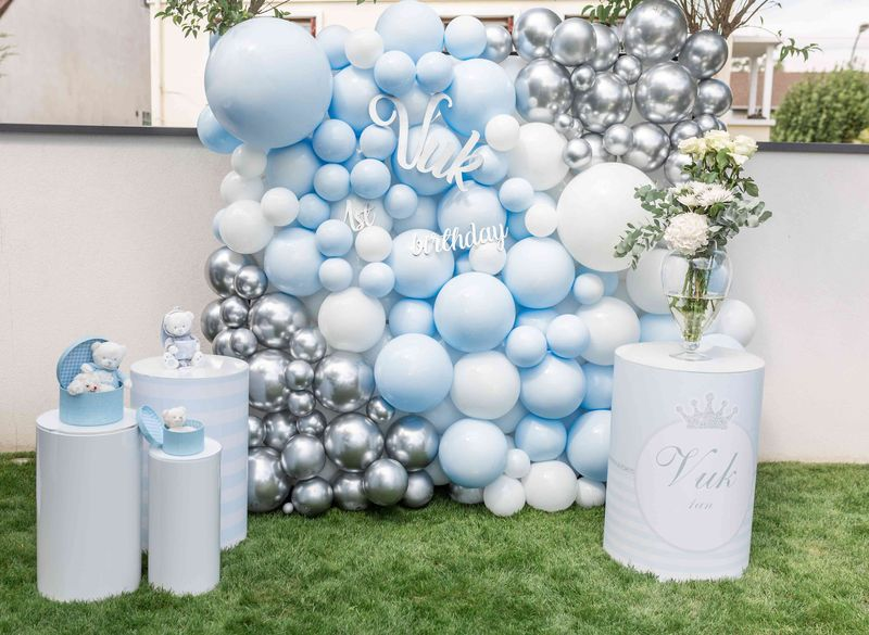 mur de ballons