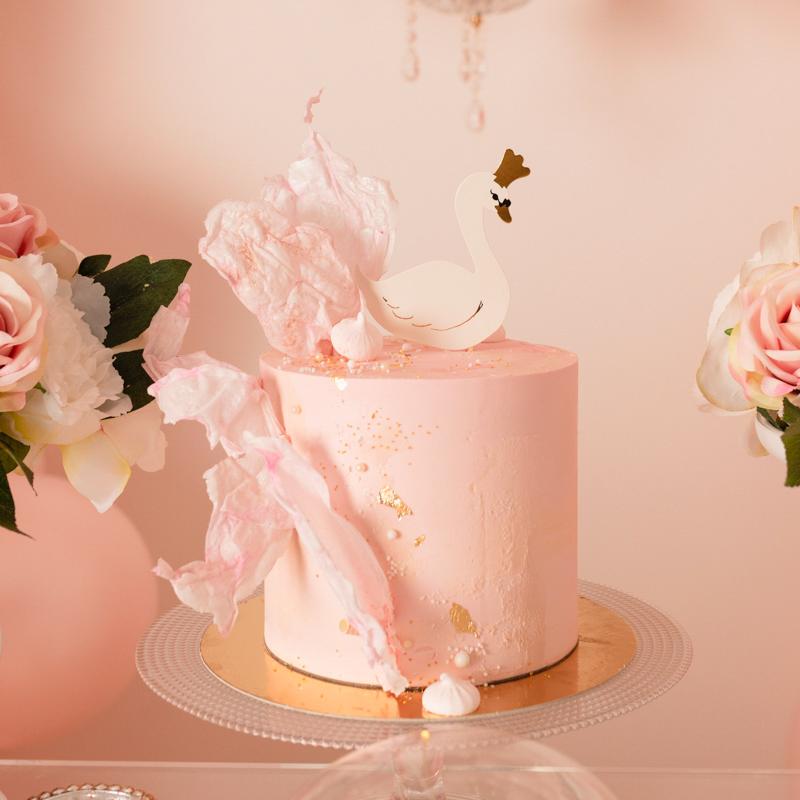 gâteau cygne swan