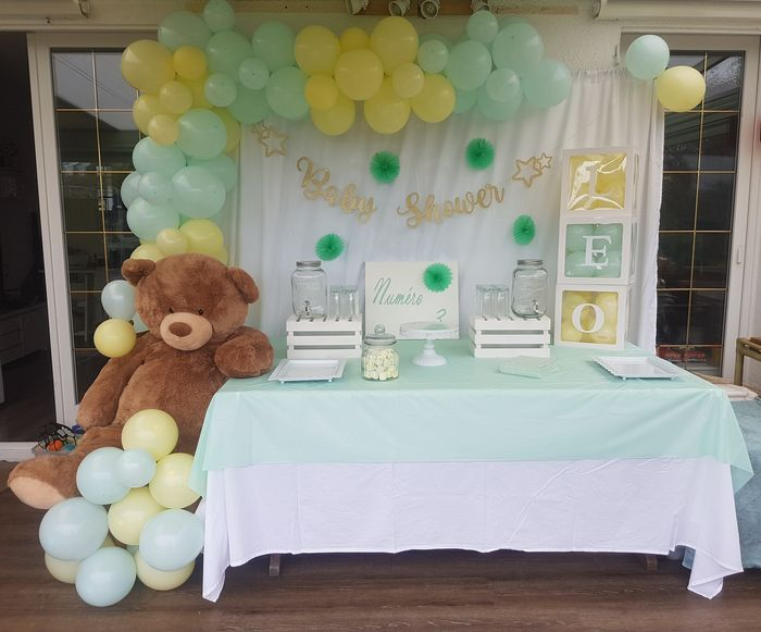 baby shower ourson
